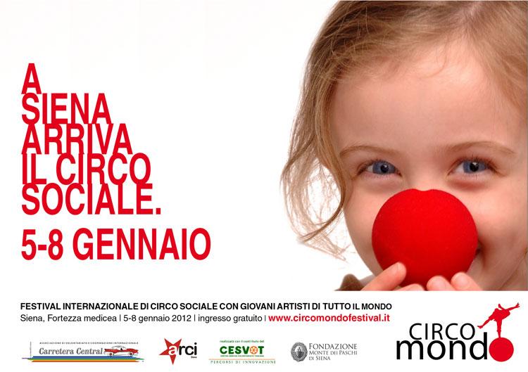 Al via Circomondo: a Siena si accendono i riflettori su circo sociale e diritti dell'infanzia