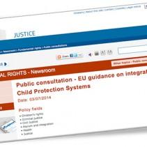 La Commissione europea lancia la consultazione sui diritti dei minori