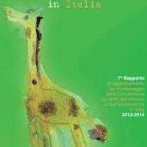 """7° Rapporto su """"I diritti dell'infanzia e dell'adolescenza in Italia"""""""