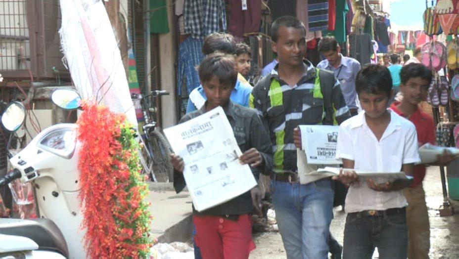 """In India nasce """"Balaknama"""", il primo giornale al mondo scritto dai bambini di strada"""