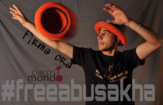 #FreeAbuSakha, un appello per liberare un giovane performer palestinese
