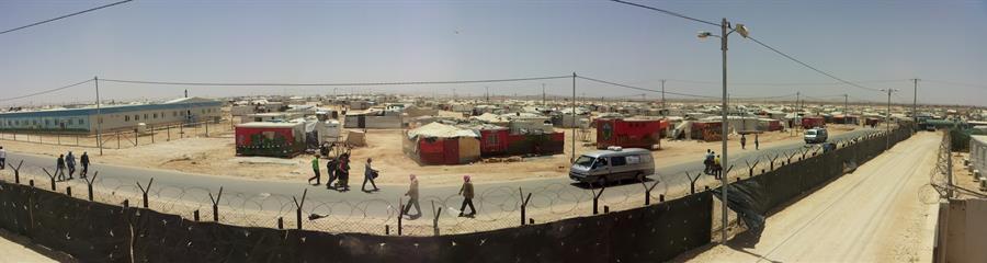 Storie di vita nel campo di Zaatari