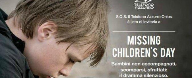 Giornata dei bambini scomparsi: 'Ne sparisce uno ogni 2 minuti. In Europa 10mila minori migranti svaniti nel nulla nel 2015′