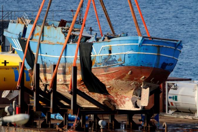 Sono stati trovati 675 corpi nel relitto affondato nel Mediterraneo