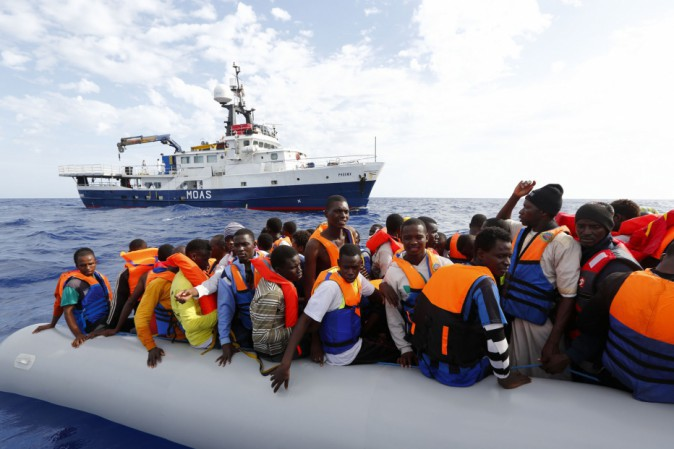 QUASI MILLE PERSONE SONO STATE TRATTE IN SALVO NEL MEDITERRANEO DOMENICA 31 LUGLIO